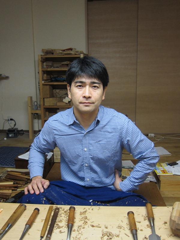 井波彫刻師「久保 大樹」